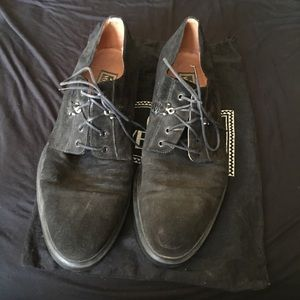 Gianni Versace lace up Oxfords